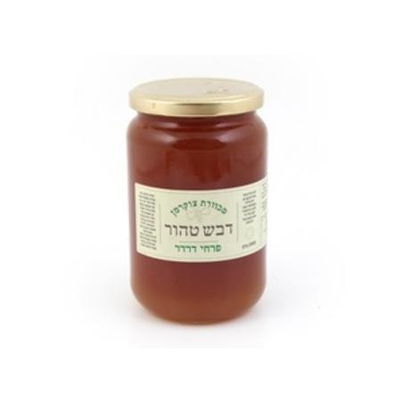 דבש 100% מפרחי שיזף - 500 גרם מכוורת צוקרמן