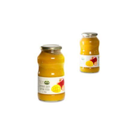 רסק תפוחים ומנגו אורגני - 700 גרם נטורפוד