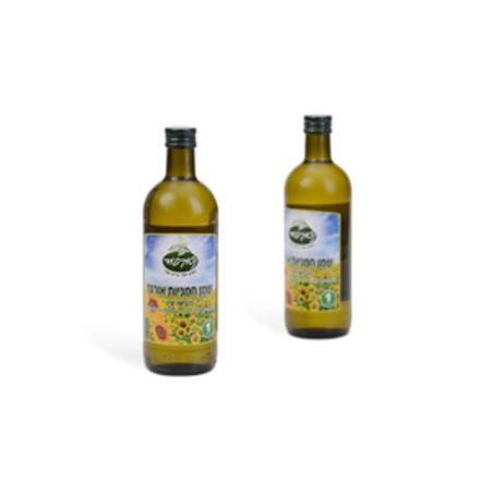 שמן חמניות אורגני - 1 ליטר נטורפוד