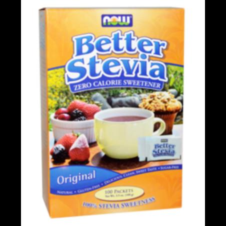 ממתיק סיטביה - 100 שקיקים  Now foods