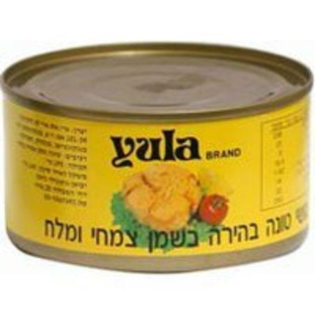 טונה בהירה בשמן צמחי - 185 גרם Yula