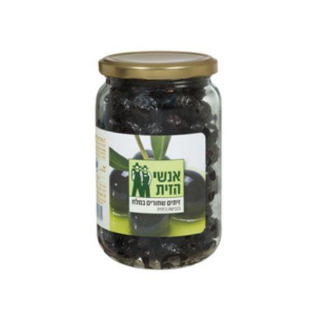 זית שחורים במלח - 500 גרם אנשי הזית