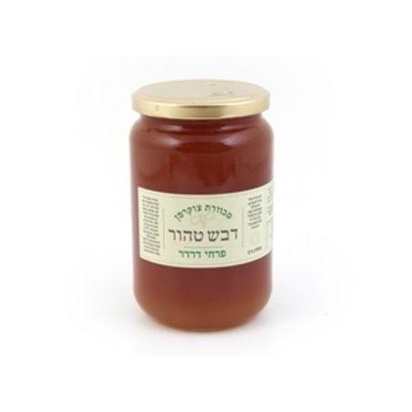 דבש 100% טהור מפרחי דרדר - 500 גרם מכוורת צוקרמן