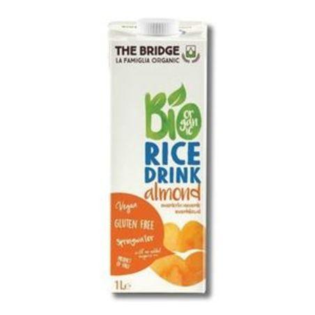 משקה אורז ושקדים אורגני - 1 ליטר