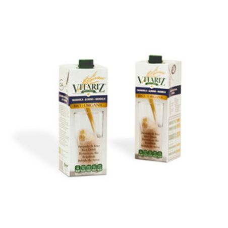 משקה אורז אורגני ושקדים ויטריז - 1 ליטר