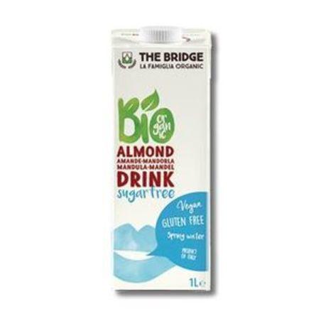 משקה שקדים אורגני ללא תוספת סוכר - 1 ליטר