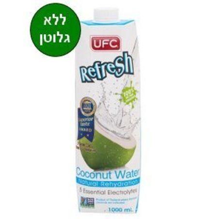 משקה מי קוקוס ללא גלוטן - 1 ליטר