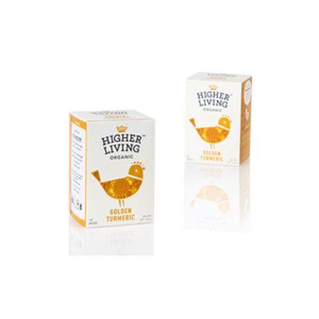 תה חליטת כורכום אורגני הייר ליווינג
