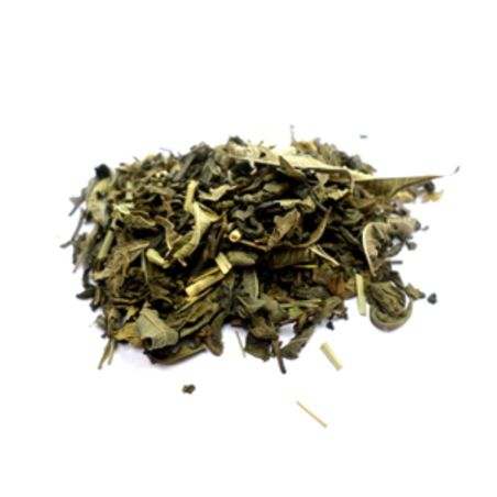 חליטת תה ירוק לימונית ולואיזה - 100 גרם