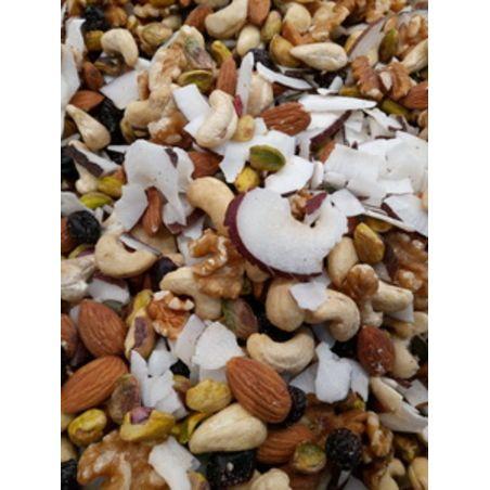 מיקס בריאות אגוזים שקדים וקוקוס טבעי