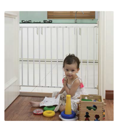שער בטיחות לילדים ממתכת